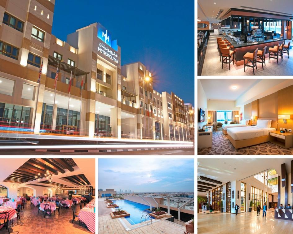 METROPOLITAN HOTEL - DUBAI